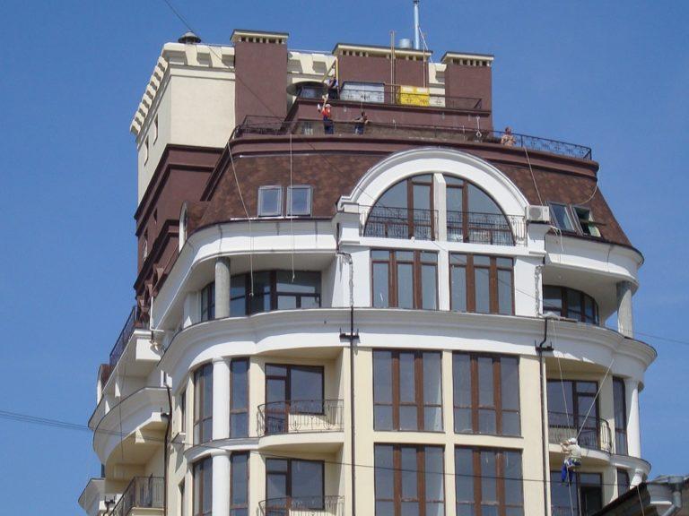 Кровельные работы для Современный многоэтажный Жилой Дом, ул. Катная, 11 - фото 1
