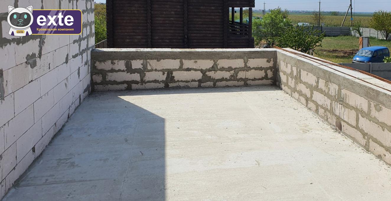 Приватний проєкт тераси в с.Санжейка