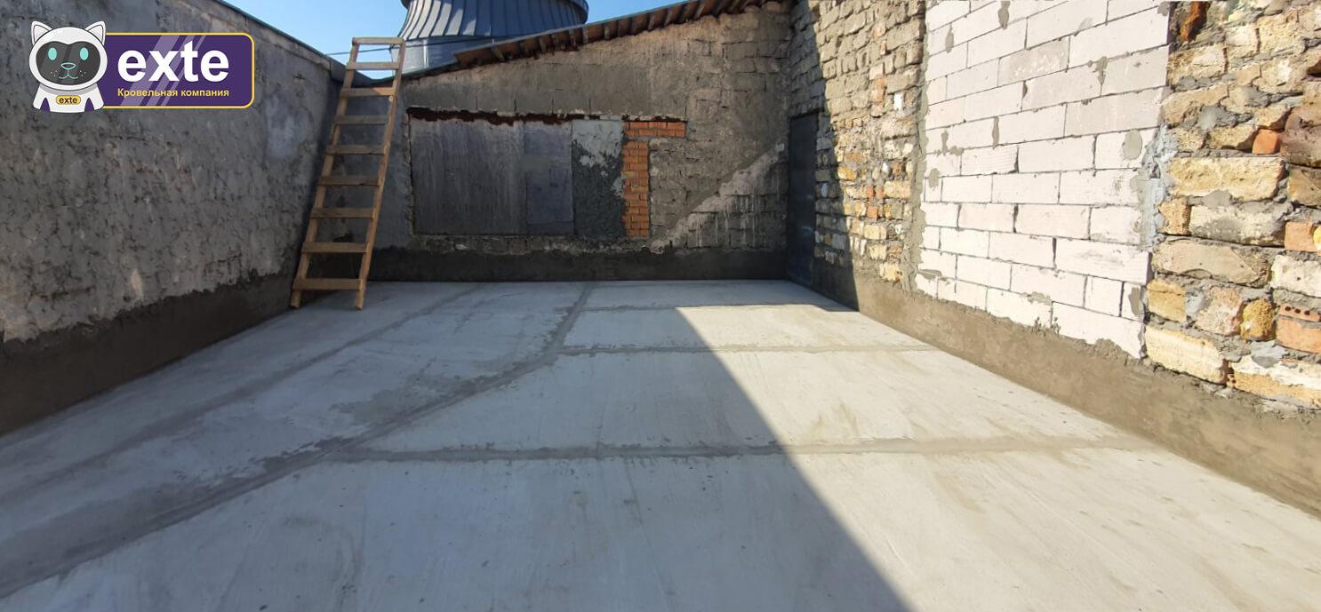 Капітальний ремонт покрівлі на Дерибасівській