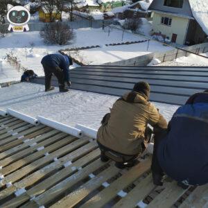 Покрівельні роботи взимку